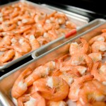 shrimp preparation for sensory panel tests