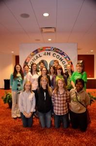 4-H National Congress Delegates 2012