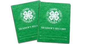 Image of recordbooks