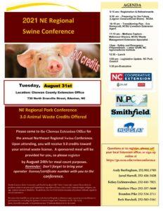 Cover photo for 2021 NE Regional Swine Conference